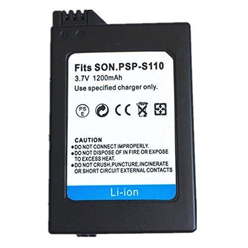 1 Piezas 1200 mAH PSP-S110 Batería PSP S110 Batería