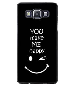 Fuson 2D Printed Quotes Designer back case cover for SAMSUNG GALAXY A5 A500F - D4290
