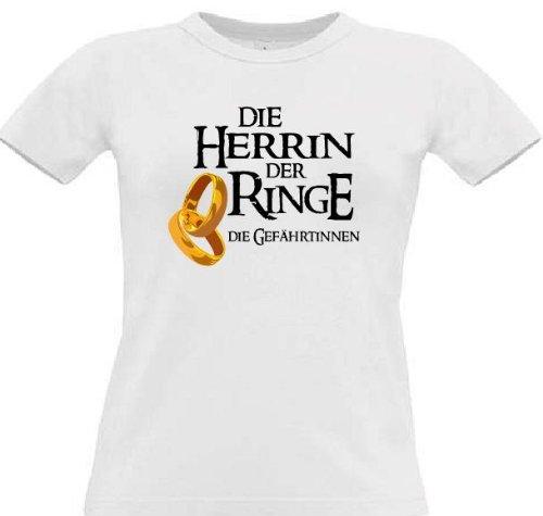 Witziges T-Shirt für den Junggesellinnenabschied, Größe M