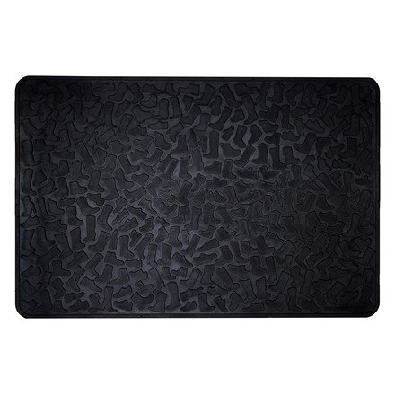 Tica Copenhagen - Fußmatte, Schuhabtropfschale - Shoe and Boot Tray - Muster: Footwear - Gummi - 60 x 90 x 3 cm
