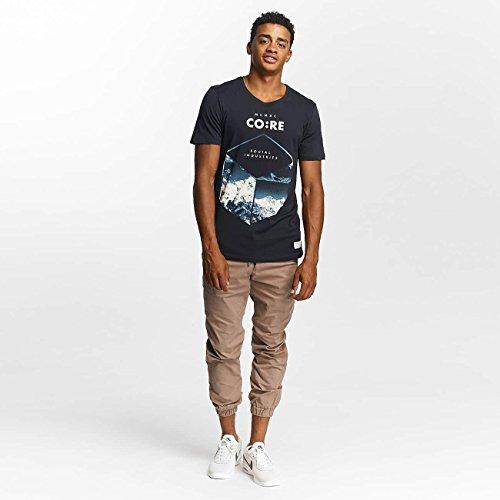 JACK & JONES Uomo Maglieria/T-Shirt jcoWild Blu