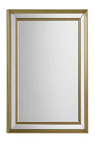 Premier-Housewares-Espejo-de-pared-con-marco-bronce