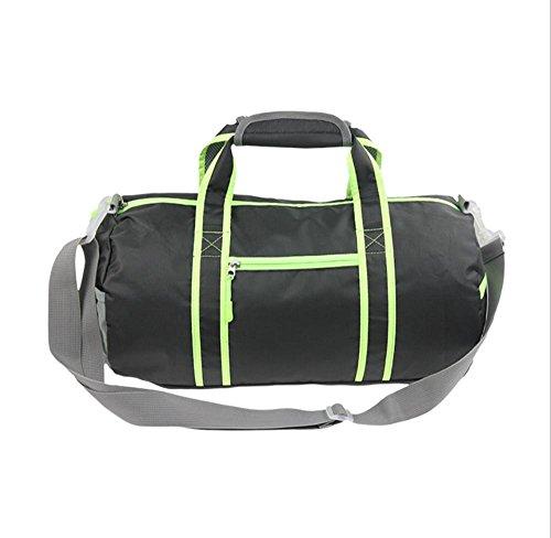 Xiuxiandianju Sacchetto di 20-35L fitness all'aperto Messenger Shoulder bag outdoor tempo libero sport pieghevole pacchetto di ammissione , rose red Black