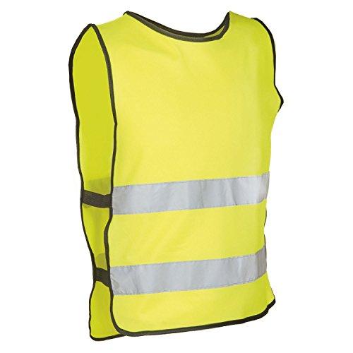M-Wave Gilet di Sicurezza, Unisex, 120916, Yellow, Piccola/Media