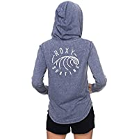 Roxy Damen Sunkissedmomena J Otlr Bre0 Fleece Top, Blau
