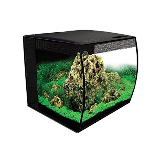 Fluval 15009 Flex Aquarium Set, 57 L, weiß