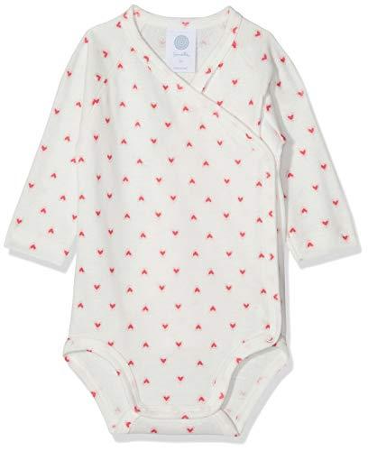Sanetta Baby-Mädchen Formender Body Wrapover 1/1 Allover, Beige (Broken White 1427) 50