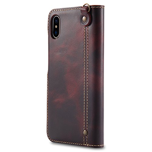custodia iphone x antigraffio rossa