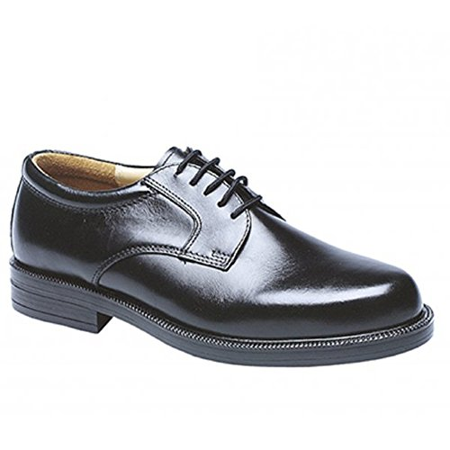 Mens Gents Leather Wide Fit Scimitar Gibson Shoes Size 6 – 14 (10)