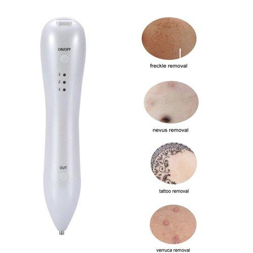 Lápiz de plasma para eliminar lunares, pecas, marcas de la edad, pigmentación de tatuajes, sin sangrado, carga por USB