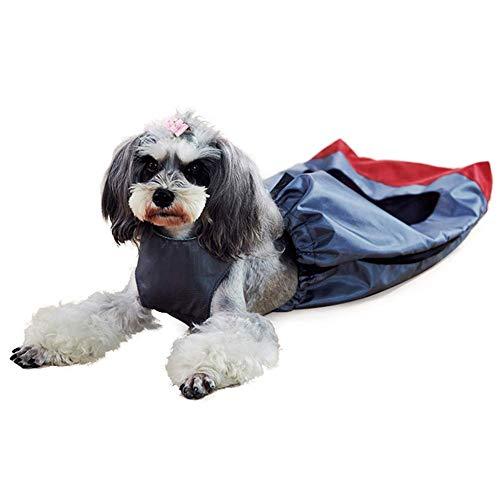 Welhome Pet Disability Hinterbeine Schutztasche, Haustier Drag Bag, für Paralyzed Tiere Hund schützt Tasche, für Chest Limbs behindertes Haustier,L -