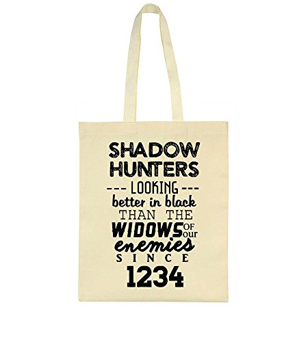 idcommerce Shadow Hunters Looking Better In Black Than The Widows Of Our Enemies Since 1234 Tote Bag (Shadow Hunters Mortal Instruments)