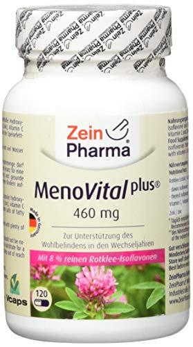 ZeinPharma MenoVital Rotklee 120 Kapseln, 1er Pack (1 x 72 g)