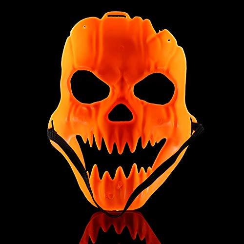 Halloween Party Kostüm Mädchen Stadt - WSJDE Kürbismaske für Halloween, gruselig, gruselig, Kostüm, Party-Dekoration, Maskenböses Kopf, Masken, Horrible Totenkopf-Masken