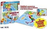 Puzzle Legno Piantina Italia