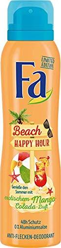 Fa Deospray Happy Hour Tropical Mango Colada Sommer, 1er Pack (1 x 150 ml)