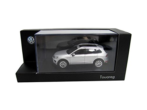 Volkswagen 7p1099300aa7W Modell Auto Touareg 1: 43, Reflex Silber Metallic