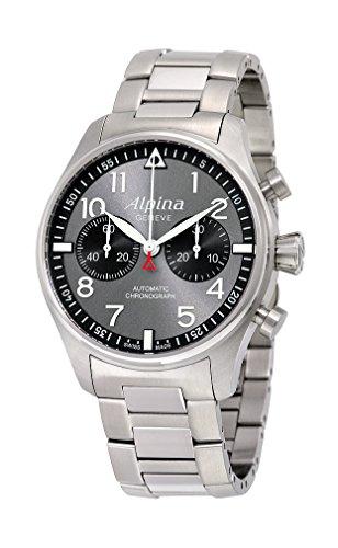 Alpina Geneve Startimer Chronograph AL-860GB4S6B Sportliche Herrenuhr Alpina Rotor