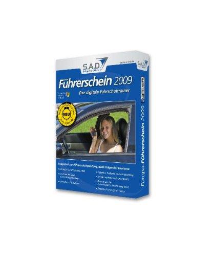 Führerschein 2009, CD-ROM in Papp-BoxDer digitale Fahrschultrainer. Für Windows 98/2000/XP/Vista
