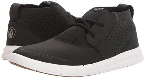 Volcom Draft Mid Shoe Black Black