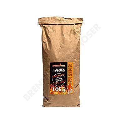 Holzkohle Buche, Grillkohle groß, 10kg, Premium Qualität, auch für Lotus und Weber Grill geeignet, 1x 10kg Sack, VERSANDKOSTENFREI