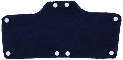 Occunomix Terry Topper (Occunomix 870B20-01 Terry Topper Snap-On Hard Hat Sweatband, One Size, Navy (Pack of 20) by Occunomix)