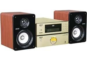 Akai Micro-chaîne DVD/MPEG4 Port USB lecteur de cartes SD/MMC QX-6350DV