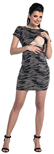 Zeta Ville - Maternité robe camoufler de grossesse d'allaitement - femme - 179c Camoufler