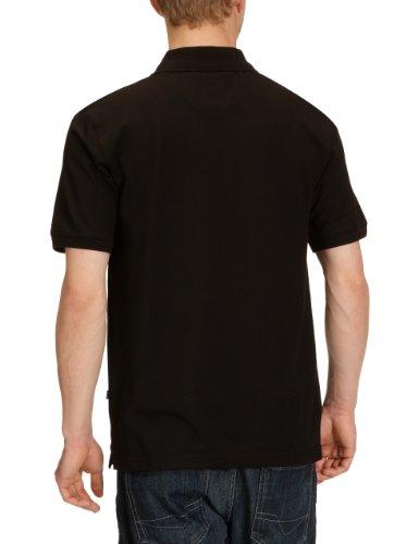 Hajo Herren Poloshirt 20050 Schwarz (100 schwarz)
