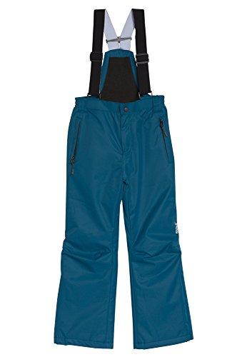 Kinder Skihose mit Latz Blau,128