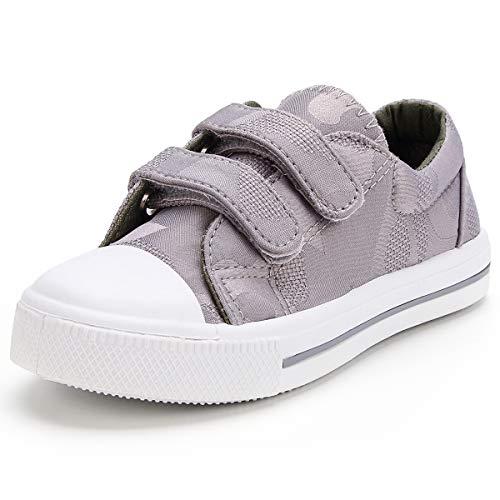 KOMFORME Unisex Kleinkinder Schuhe Sneakers Lauflernschuhe Canvas,Baby Mädchen und Jungen 22-28 -