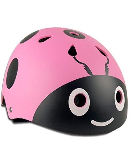 WZFC Fahrradhelm 2018 Specialized Kinder Fahrrad Helm, 48-57 cm (3~12 Jahre Alt),Pink,S(48~53Cm)