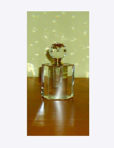 stealstreet ss-gc-cc-105klar K9-Kristall Oval Parfüm Flasche mit passendem Top Duft Decor