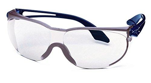 Pack von 10-Uvex Skylite Diffusor Sicherheit Anpassung Brille, One size, transparent