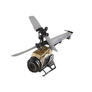 SilverLit - Spy Cam, Elicottero radiocomandato a 3 canali, con giroscopio e videocamera, 2,4 GHz