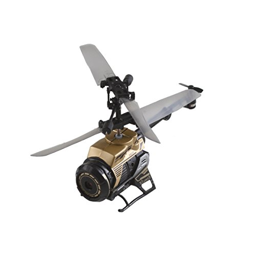 World Brands - Spy CAM Nano, helicopter with radio control (84729)