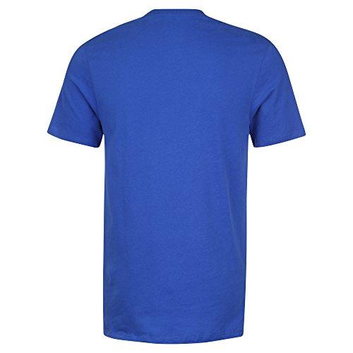 Nike Sportswear Hybrid Futura T-Shirt Blau
