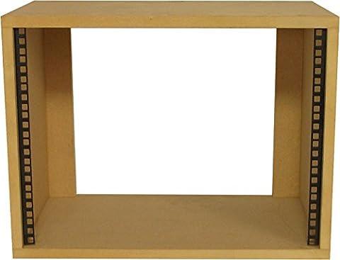 Desk Top 19 inch 8U Rack Pod - SMP8