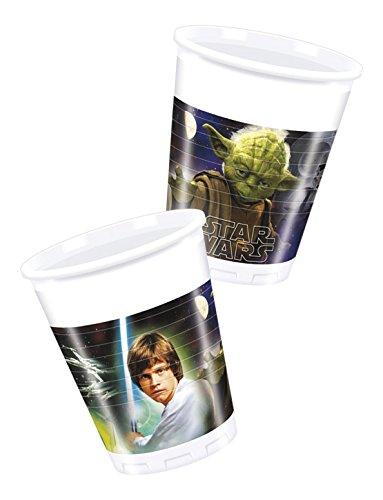 Star Wars Kunststoffbecher 200ml Helden und Bösewichte, ()
