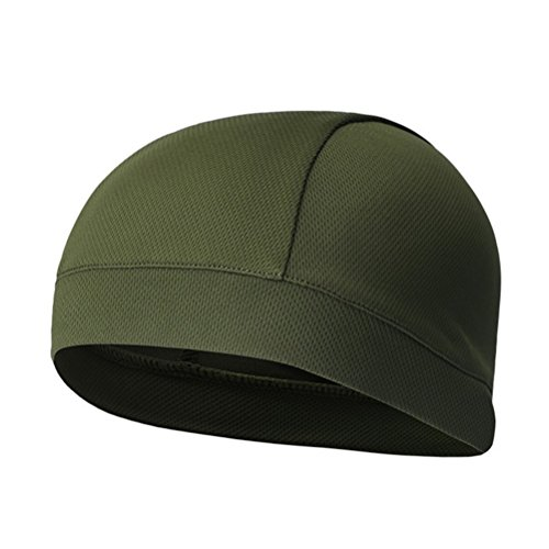Imagen de winomo skull cap quick dry sport sudadera gorro ciclismo caps cinta sudor banda verde