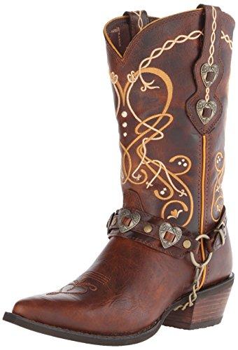Durango Boots Stiefel DCRD180 Braun Damen Westernstiefel (Boots Womens Cowboy)