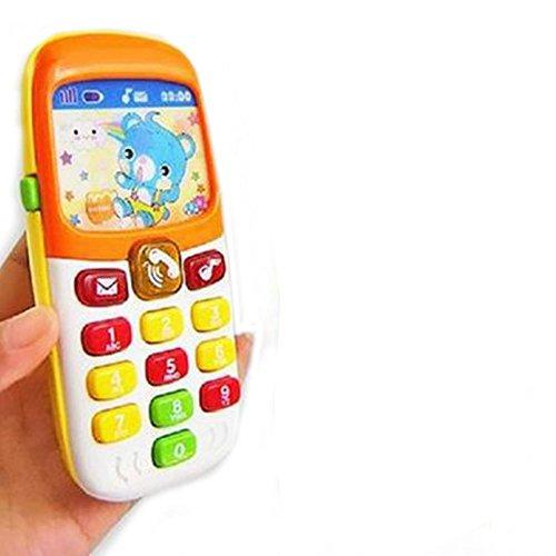 Purebesi teléfono infantil juguete,educativo del teléfono Education 6 Month Year Olds Baby...