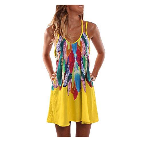 MOMOXI Vestidos mujer Mini vestido corto