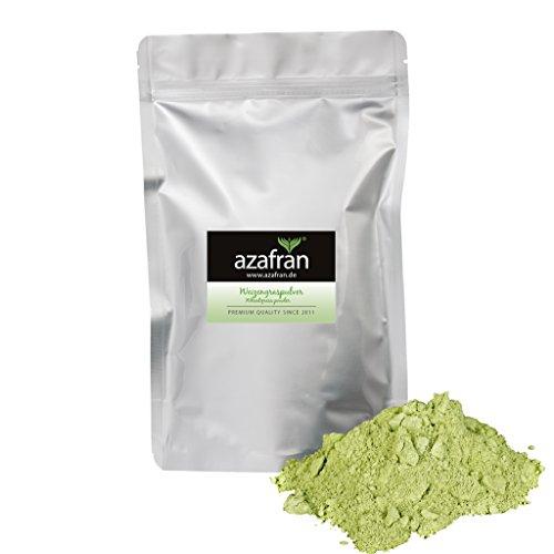 Azafran BIO Weizengraspulver, Weizengras Pulver gemahlen aus DE oder AT 500g