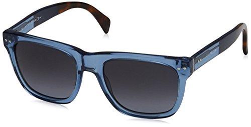 Tommy hilfiger unisex - adulto th 1238/s hd g85 53 occhiali da sole, blu (tribal bluehav/grey sf)