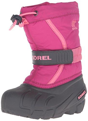 Sorel Kinder Winterstiefel, CHILDRENS FLURRY, Pink (Deep Blush/Tropic Pink), Größe: 27