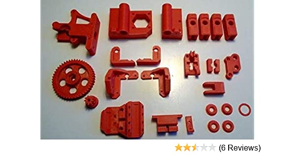 3D Printed Prusa i3 Rework parts PLA Multiple Colors Available!