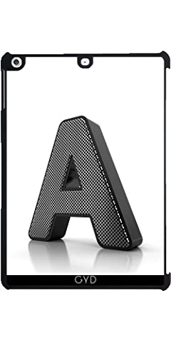 Coque pour Apple Ipad Air - Monogramme Un by Carsten (Metallo Monogram)