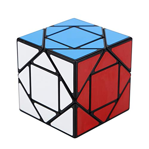 Mayyou Cube Magic Würfel unregelmäßig Magic Puzzle Cube Speed Cubes Magic Puzzle Speed Cube Brain Teaser Twist Toy