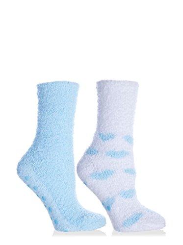 Anti-Rutsch-Socken aus Chenille, mit Lavendel angereichert, flauschig und warm, für Damen/Mädchen, Einheitsgröße - - Eine Größe passt meistens (Chenille-socken Frauen Für)